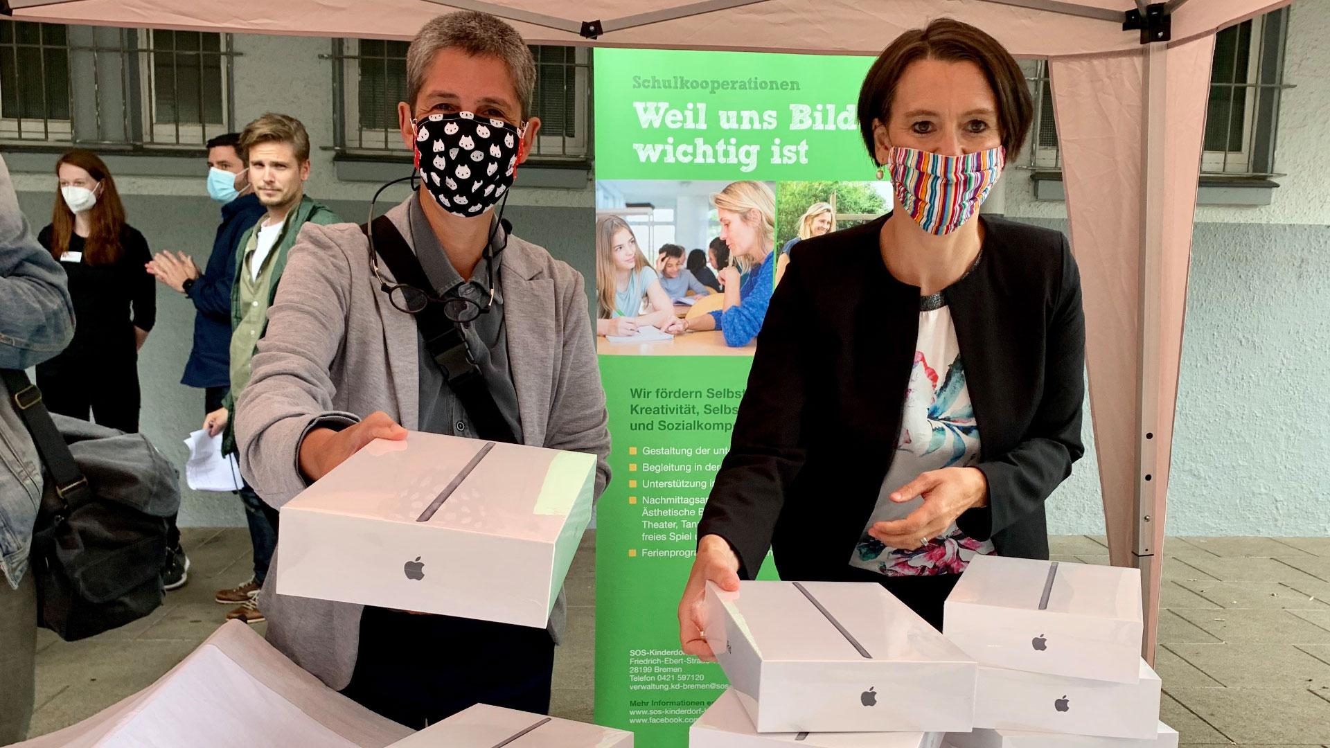 Bremen verteilt 100.000 iPads an Schüler und Lehrer